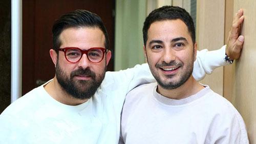 سریال قورباغه هومن سیدی و نوید محمدزاده